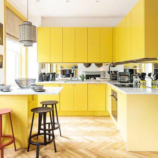 Marigold Deep Gold kitchen color